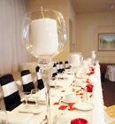 """Tall Glass Cup Candle Holder Wedding Centerpiece 16""""H x 4""""W"""