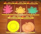 AUTUMN Paper Doilies 32pcs choice NEW