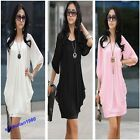 2013 Style Sexy Lady's Graceful Black/White New Cocktail Women's Chiffon Dress