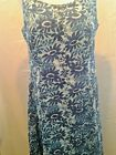 Adini 100% Cotton dobby printed button through fully lined sundress loose fit