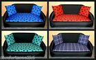 ZIPPY SMALL SIZE SOFA BED WATERPROOF BACKED POLYESTER WASHABLE LOOSE COVERS wipe