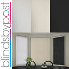 """Replacement Vertical Blind Slat 89mm (3.5"""") Candy Stripe Design"""
