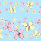 ARTY BUTTERFLIES STICKERS yellow pink boys girls childrens bedroom wall, car etc