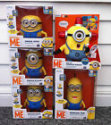 Despicable Me 2 Talking Minion Interactive Toy Dave Stuart Kevin Bob - BRAND NEW