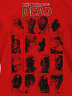 The Walking Dead Red Faces Premium Tee NEW T Shirts Toys TV Show Zombies