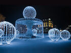 LED String Net Light Outdoor Christmas Xmas Fairy Wedding Curtain Lamp 4M*0.8M