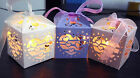 """Tealight LED Candle Light Holder Lantern Heart 2x2x2"""" Box for Weeding Favours"""