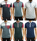 Mens Designer Swade Jeans Polo T Shirt Latest Casual Smart Collared Jersey Top