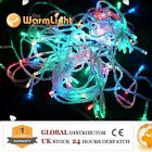 LED Festival Icicle/String/Net/Optical Fibre/Curtain/Waterfall Fairy Lights RGB