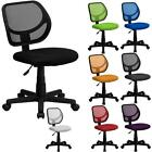 Best Mid-Back Mesh Task Desk Computer Office Chair Swivel Adults Kids Colorful