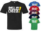 Alan Partridge SMELL MY CHEESE Cult DVD TV film Tribute T Shirt. Choice of size