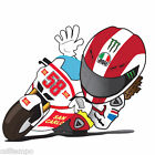 ADESIVO DECALCOMANIA SIMONCELLI SIC 58 MOTO DECALS DECAL STICKERS VARIE MISURE