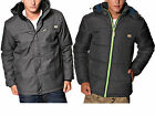Mens Designer Humor Jeans Padded Jacket Fleece Puffer Hooded Bomber Coat Puffa