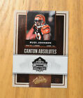 Rudi Johnson 2007 Playoff Absolute Canton Absolutes CA-23  #D 34/50. Bengals