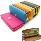 Lady's Faux Leather Wallet Phone Case for Iphone Galaxy 90 Clutch Long Handbag