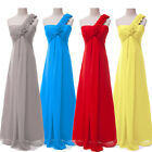 Sexy Women's Long Formal Bridesmaid Wedding Evening Party Gown Prom Ball Dresses