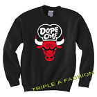 DOPE BULL/ CHICAGO CHEF BLACK SWEATSHIRT YMCMB/ Geek/MICKEY HAND