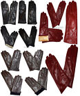 Ladies New Leather gloves winter stylish gloves worm leather gloves BNWT
