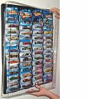 Hot wheels Display Case (black) for carded cars w Dust Cover for up to 52 cars günstig