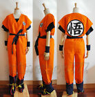 Dragonball Z Son Goku Cosplay Party Costume Whole Set High Quality Free Shipping