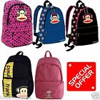 NEW PAUL FRANK JULIUS MONKEY BRANDED OFFICIAL BACKPACK RUCKSACK SCHOOL GYM BAG