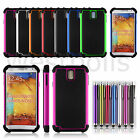 Hybrid Hard Rugged Heavy Duty Shockproof Case For Samsung Galaxy Note 3 N9000