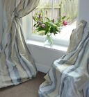 Made to Measure Interlined Laura Ashley Caspian Silk Eyelet  Curtains