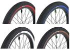 Savage Freestyle 20 x 2.3 BMX Bike / Cycle Ramp Tyres Coloured Sidewall