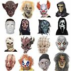 Horror Latex Zombie Skull Clowns Pimpkin Corpse Dracula Wolf Party Masks