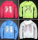 NWT Victoria's Secret Bling SUPERMODEL ESSENTIALS Angel Wing Hoodie 3 Colors