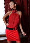 RRP £50 New Ladies Womens Sexy Wedding Mini Evening Formal Party Prom Dress 8-14