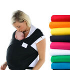 Baby Sling Newborn Infant Stretchy Wrap Carrier Bag Pouch Breastfeeding Colorful