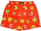 NEW THE GRINCH DR. SEUSS THE GRINCH & MAX RED COTTON BOXER SHORT UNDERWEAR M, XL
