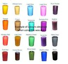 Candle Dye Dyes - 10g colours 1kg of Paraffin Wax - Choice of colours & weights