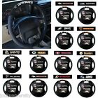 NFL Teams - Black Poly-Suede & Mesh Steering Wheel Cover $14.99 USD on eBay