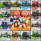 Mushroom Glass Loose Spacer European Charms Bead Fit Bracelet 2mm Hole