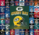 Plush Fleece Blanket *NFL Football* (AFC/NFC) Helmet Design *Select Your Team* on eBay