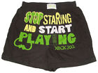 NEW MICROSOFT XBOX 360 GAME START PLAYING BOXER SHORT UNDERWEAR GIFTS M, L
