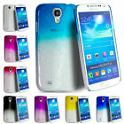 Fitted Ultra Slim Raindrop Grip Hard Crystal Case For Samsung Galaxy S4 S4 Mini