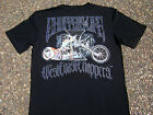 WCC OFFICIAL West Coast Choppers Bird Bike Black T-Shirts Small