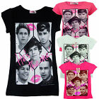 BRAND NEW GIRLS ONE DIRECTION SUMMER CASUAL T SHIRT TOP HE'S THE ONE AGE 7-8 /13