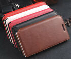 New Genuine Real Leather Flip Phone Case Cover For Huawei Ascend P6 Cool