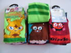 MOSHI MONSTER 3 pr pack of socks- Boys shoe size 9-12