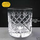 11oz Crystal Whisky Glass Free Engraving up to 30 Letters withc Gift Box Option
