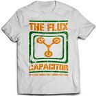 9063w FLUX CAPACITOR 2 T-SHIRT BACK TO THE FUTURE hill valley biff