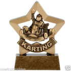 "3.25"" Karting Mini Star Trophy Award with Free engraving up to 30 Letters"