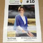 REDUCED!!  Kollage Double Lace Shawl Knitting Kit - Feed Your Creativity 10
