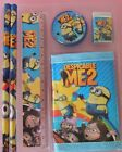 DESPICABLE ME STATIONERY SET AND WALLET PARTY BAG FILLERS OR GAME PRIZES