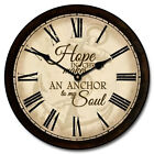 Large wall Nautical Clock 3, 12- 48 Whisper Quiet, Non-Ticking