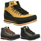 NEW MENS WINTER WALKING HIKING SNOW ANKLE BOOTS TRAINERS WORK SHOES SIZE GENTS